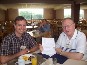 Roy Swanberg and I discuss the first three chapters of his next novel.