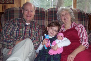 Mom and Dad Blumer with Laura