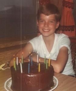 Me at age 13