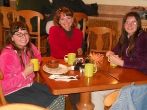 Julia, Kim, and Laura