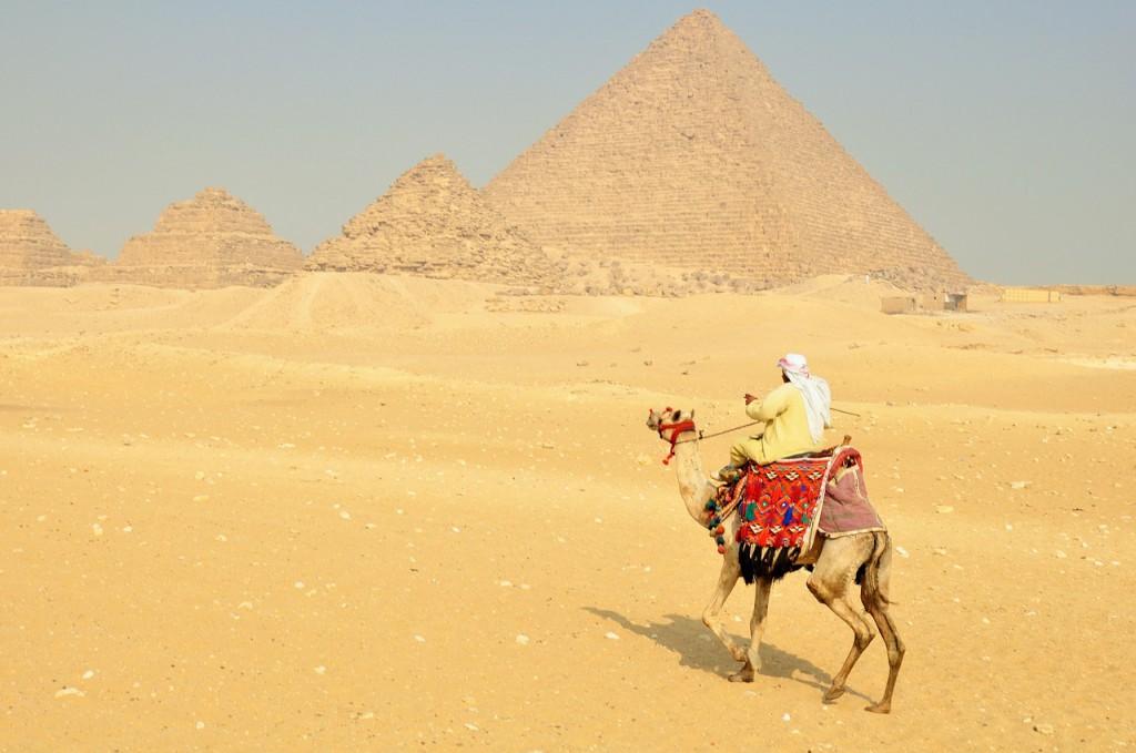 Joseph on camel