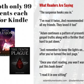 Both Novels Only 99 Cents Each for Kindle – Today Only