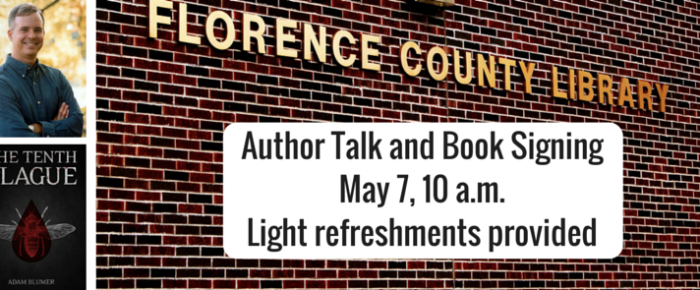 Author Talk and Book Signing at Florence County Library