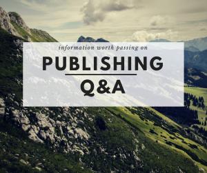 PublishingQ&A