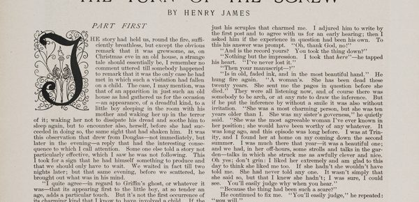 What Henry James Taught Me about Writing Suspense