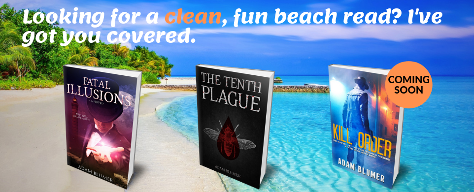 Check out my beach reads!